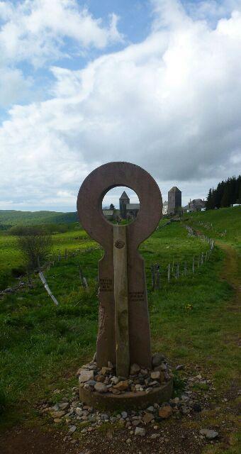 Lundi 26 Mai - Nasbinals/St Chely d'Aubrac - 18 km