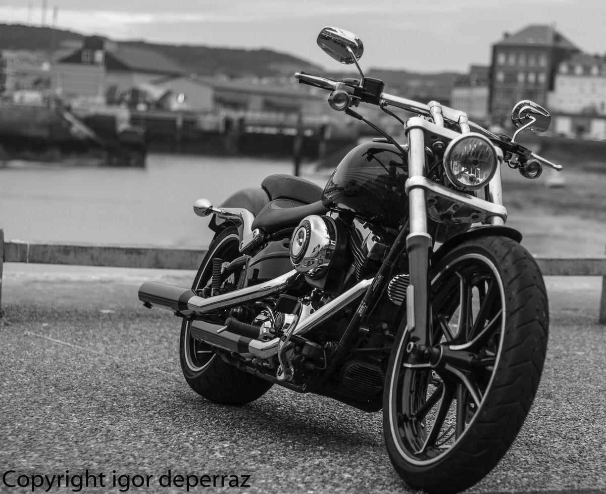 Mon tour en Harley au Tréport