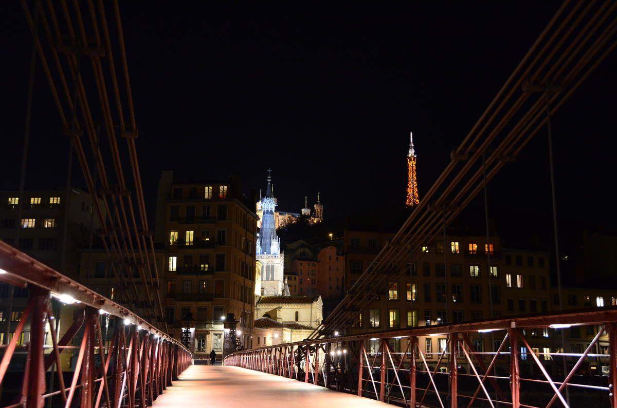 Nocturne dans Lyon