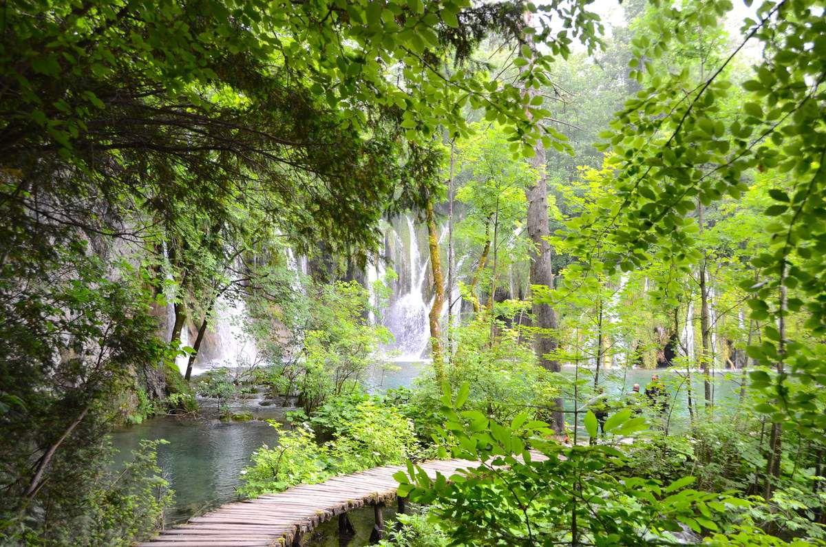 Parc naturel de Plitvice Croatie