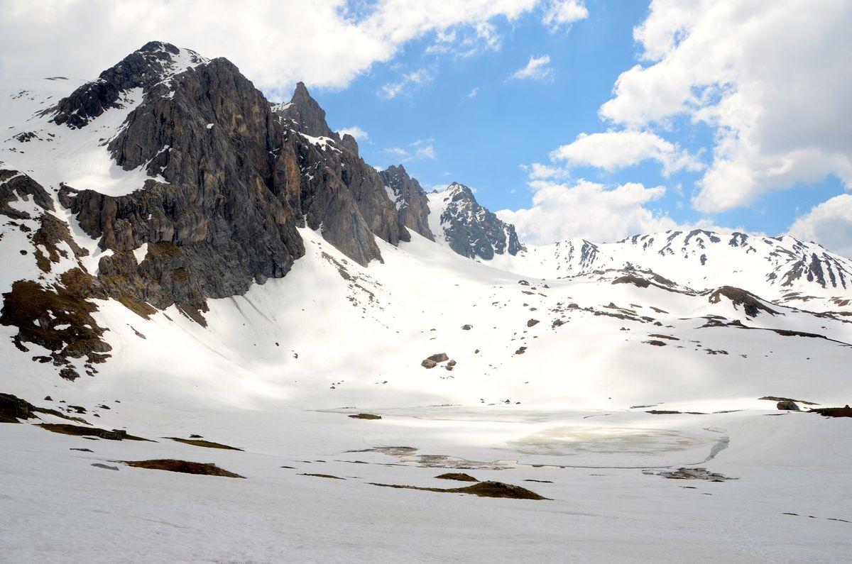 lac des cerces 2410m