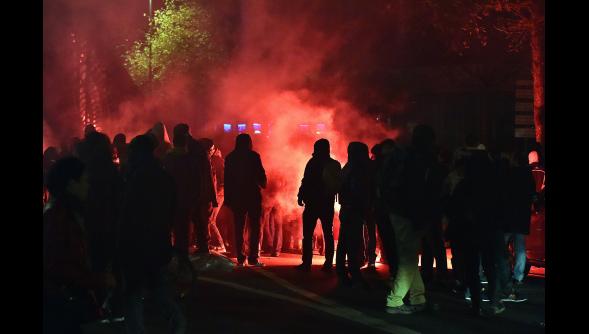 Lille-Manifestation contre les violences policières (8 novembre )