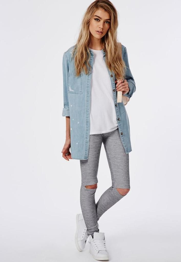 Cute Outfits With Grey Leggings That Will Look Good on Anyone - Australia Online