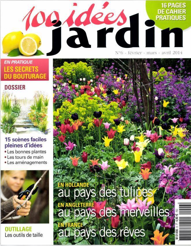 100 idées jardin : des photos magnifiques, ne parait pas régulièrement.