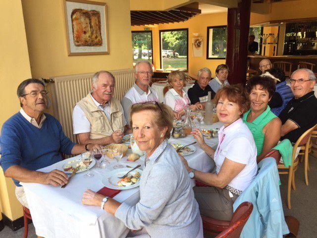 Sortie golfique des Seniors de Saint Aubin ....