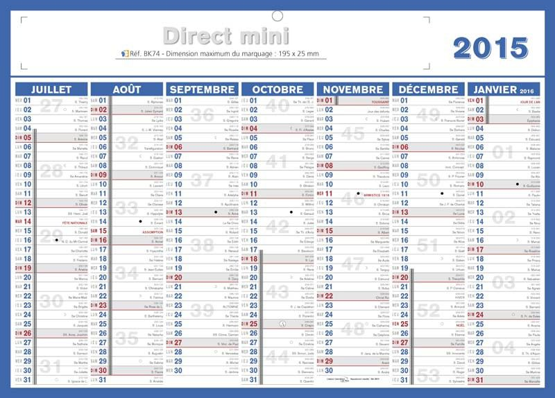 Divers Calendriers 2017 .....