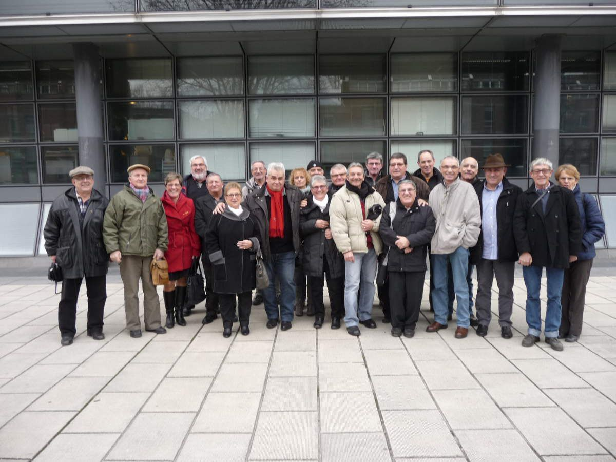 Le 24 Février 2015 à la sortie de la cour d'appel de GRENOBLE