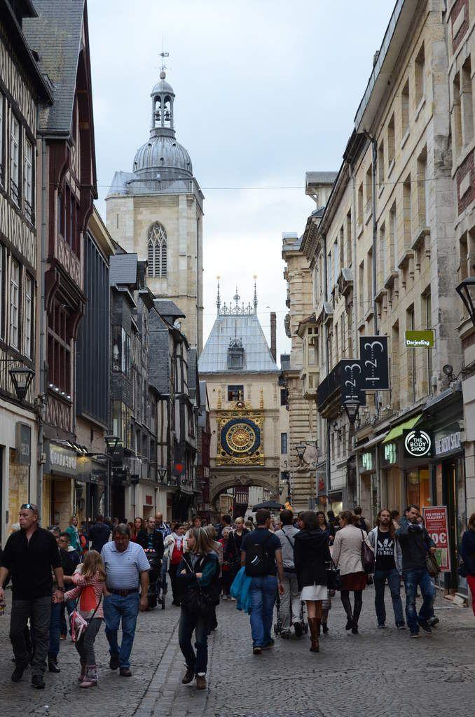 Découvrir Rouen en photo - Mise en pratique