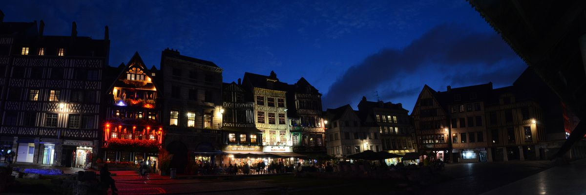 Stage nocturne en seine-maritime 76 Rouen By Night