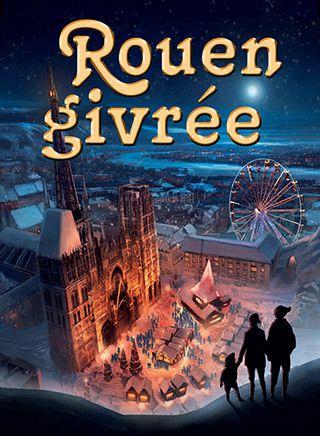 Allons photographier Rouen Givrée 2014 lors d'un stage photo de nuit avec un photographe professionnel Hizy studio