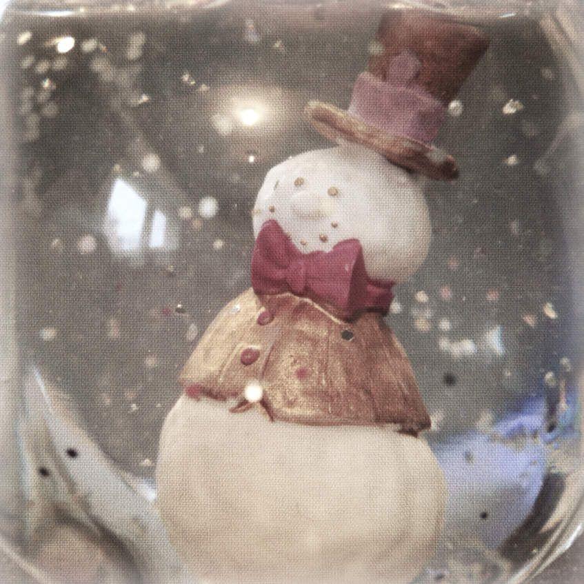 Une boule à neige faite maison: