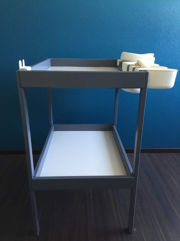 Table langer ikea relook e my little deco - Table a langer pliable ikea ...