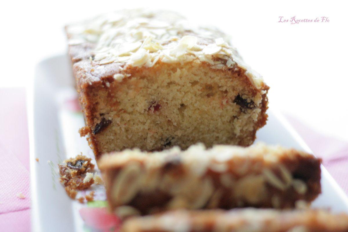 Cake anglais Moelleux aux Fruits Confits