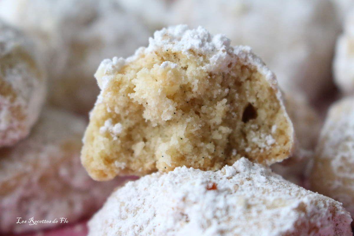 Vanille Kipferl ou Sablés moelleux à la Vanille