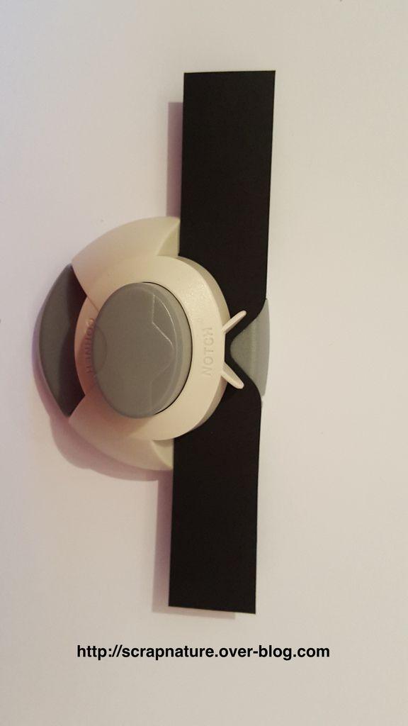 Comment réaliser un joli noeud avec l'outil enveloppe de chez scrap'plaisir