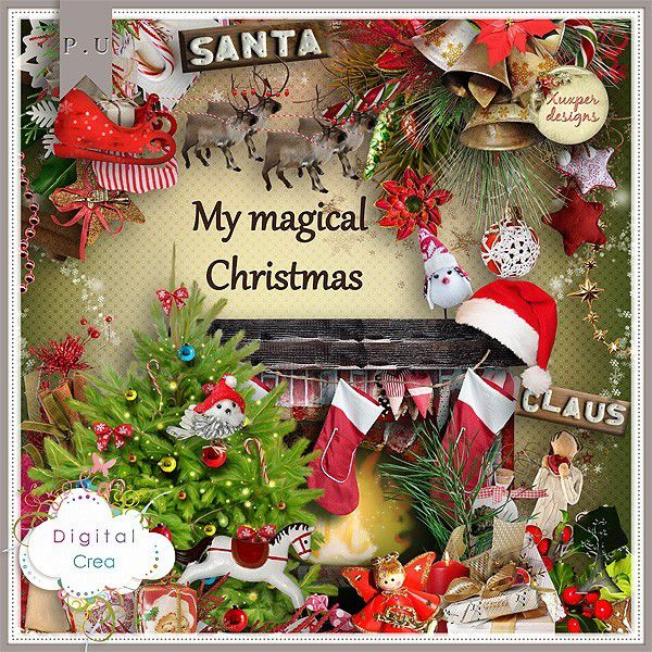 My magical Christmas de Xuxper Designs