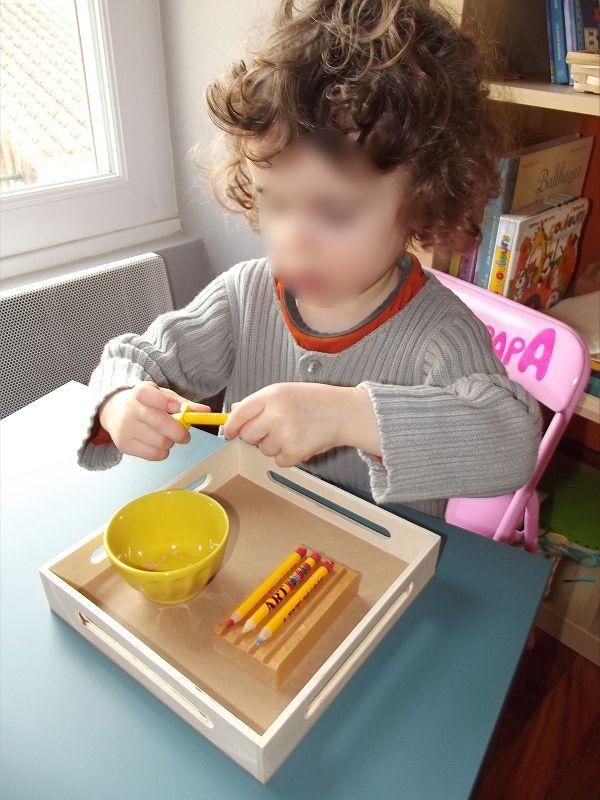 Tailler un crayon