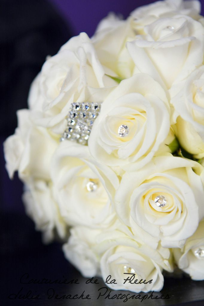Deux jolis bouquets de mariées identiques !