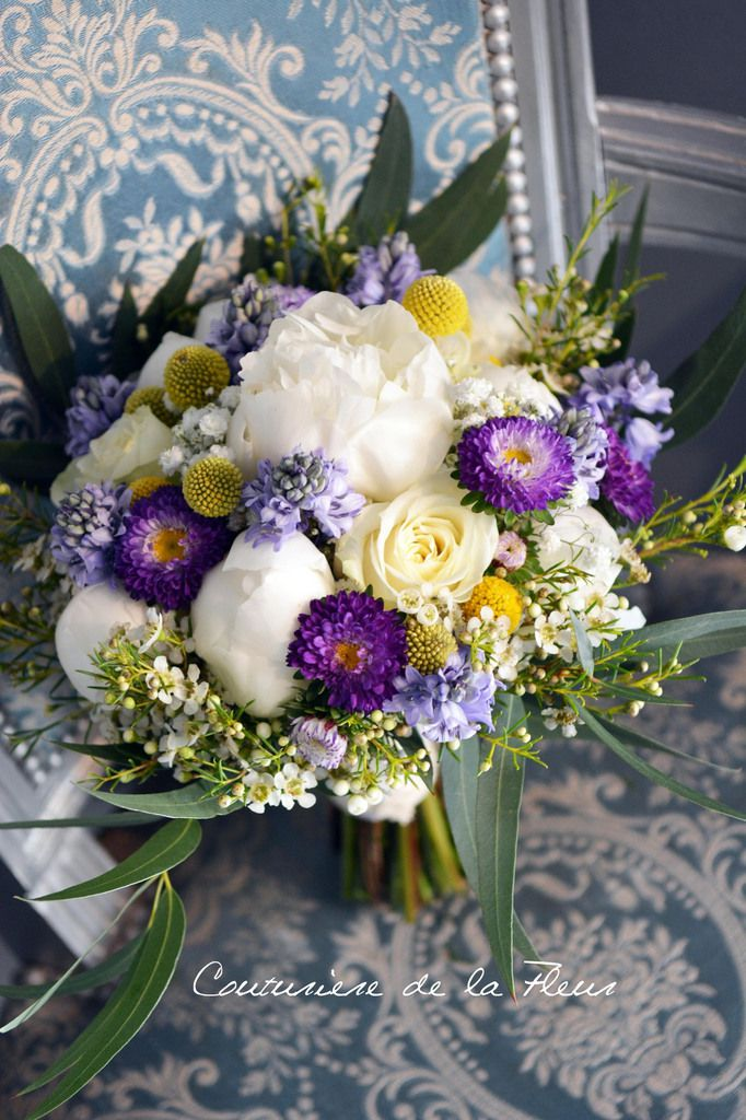 Bouquet de la mariée vintage