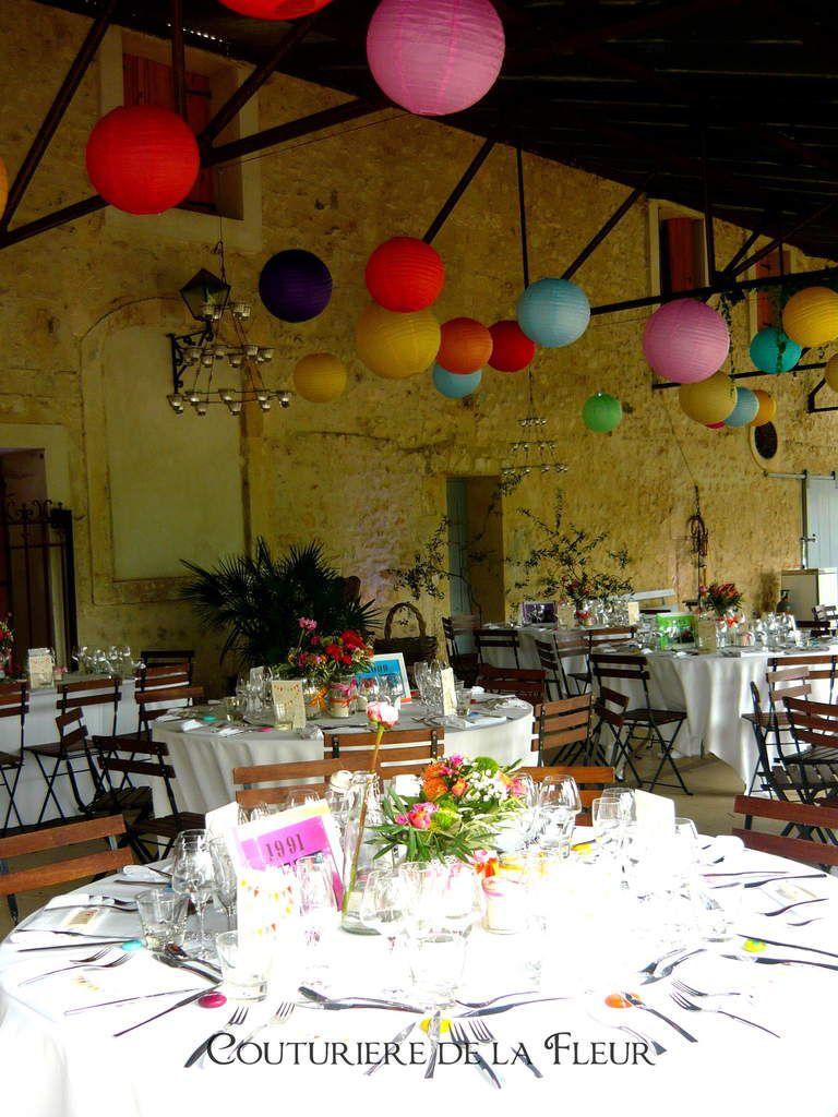 Salle de réception du Domaine viticole de Buzarens à Assas