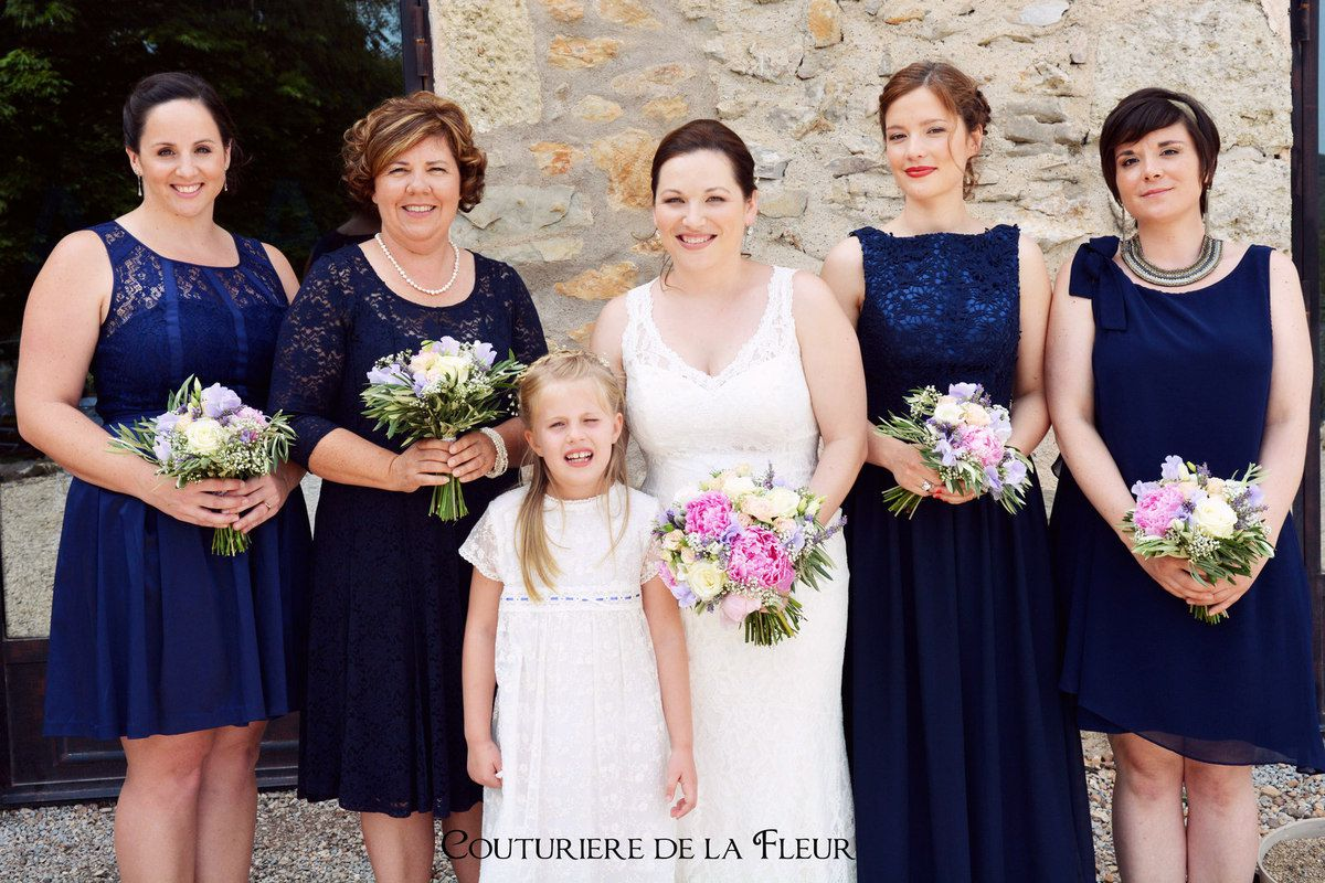 Amélie et ses jolies demoiselles d'honneur