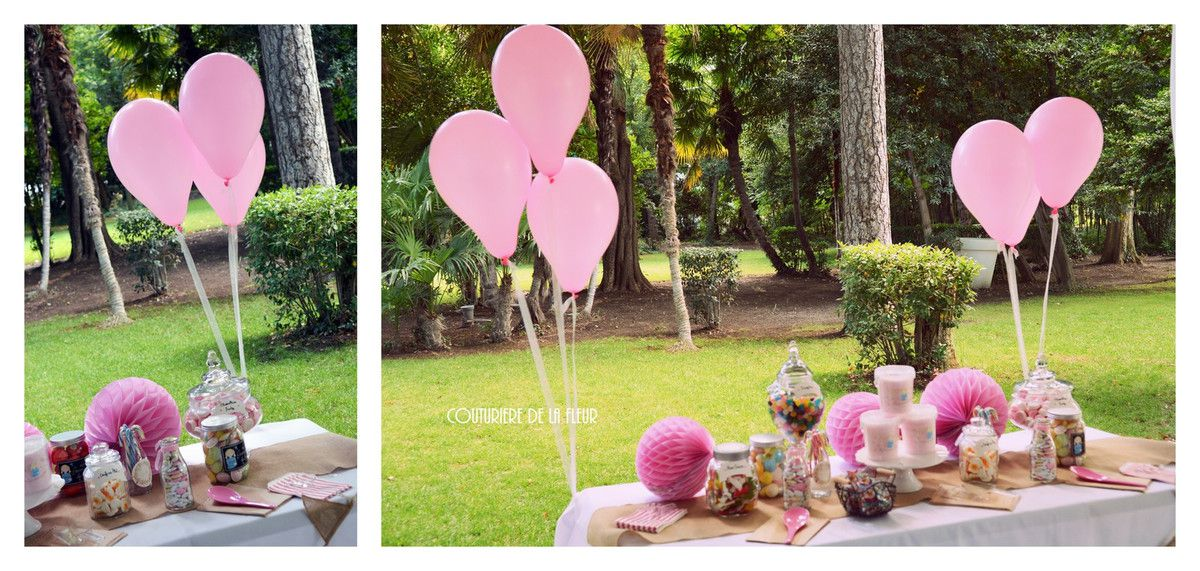 Le Candy Bar girly et gourmand d'Audrey et Nader