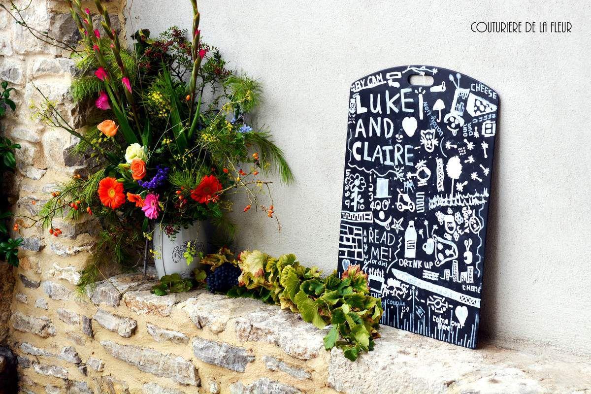 Petit décor réalisé par la maman de Claire. So british ! Little decoration made by the mother of Claire. So British!