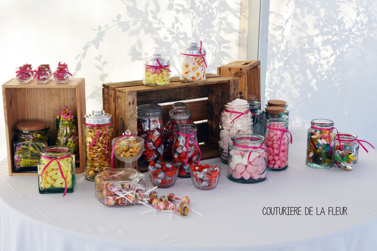 candy bar ma petite epicerie d coratrice mariage montpellier ambiance chic fleuriste mariage. Black Bedroom Furniture Sets. Home Design Ideas