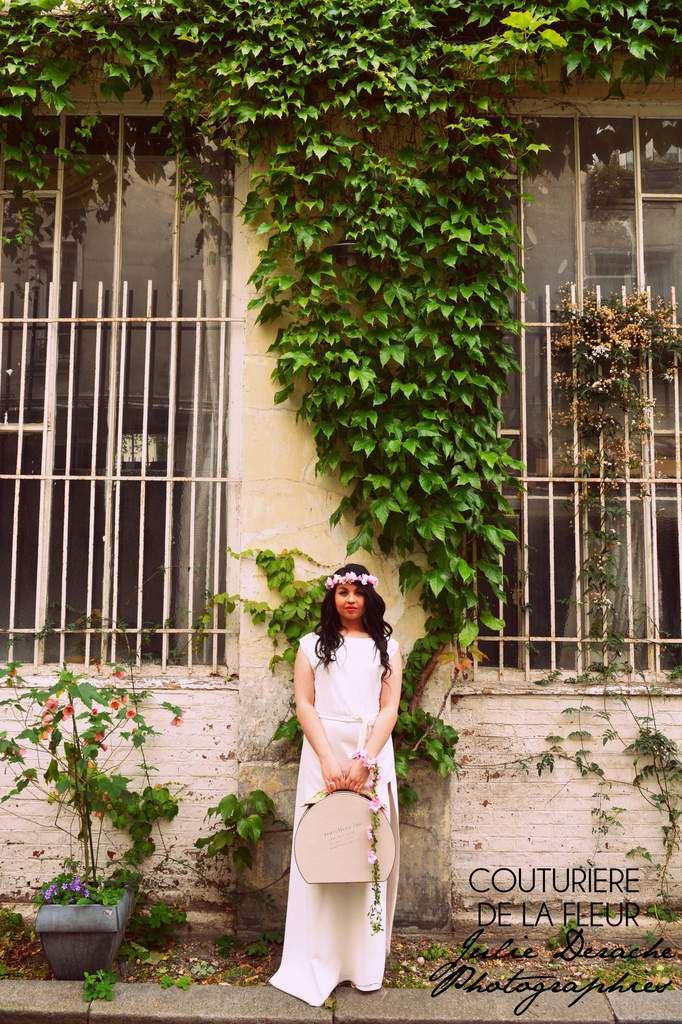 Couturière de la Fleur aime Laure B Gady, créatrice de robes de mariée parisienne