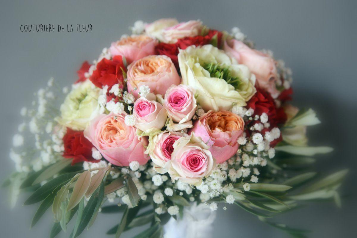 Bouquet de mariée de Caroline