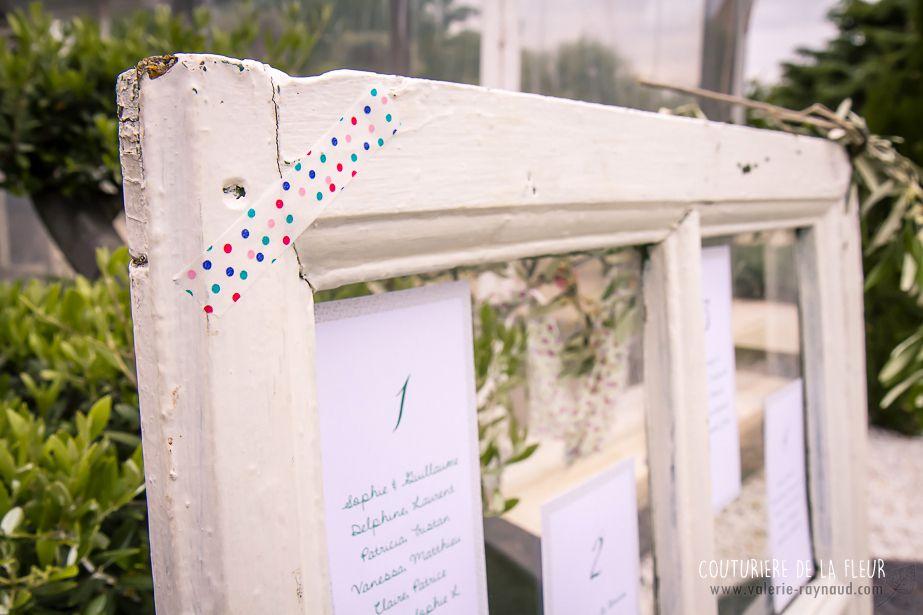 Décoration des tables liberty et romantique - Merci à Valérie pour ces photos de détail de mon travail...