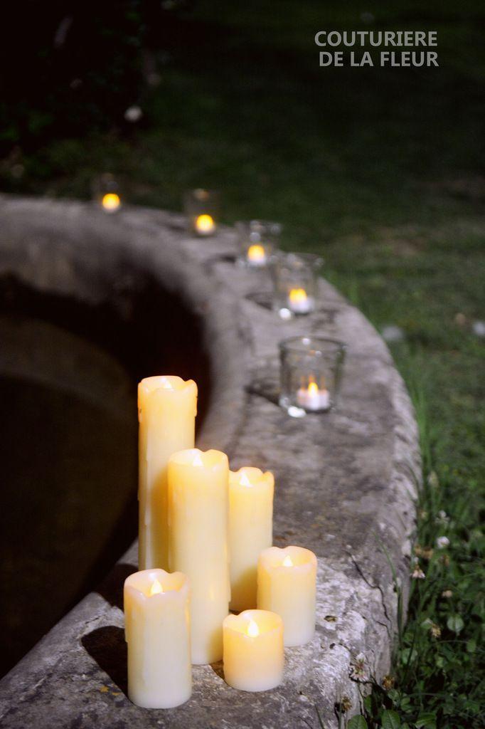 Mise en lumière de la fontaine