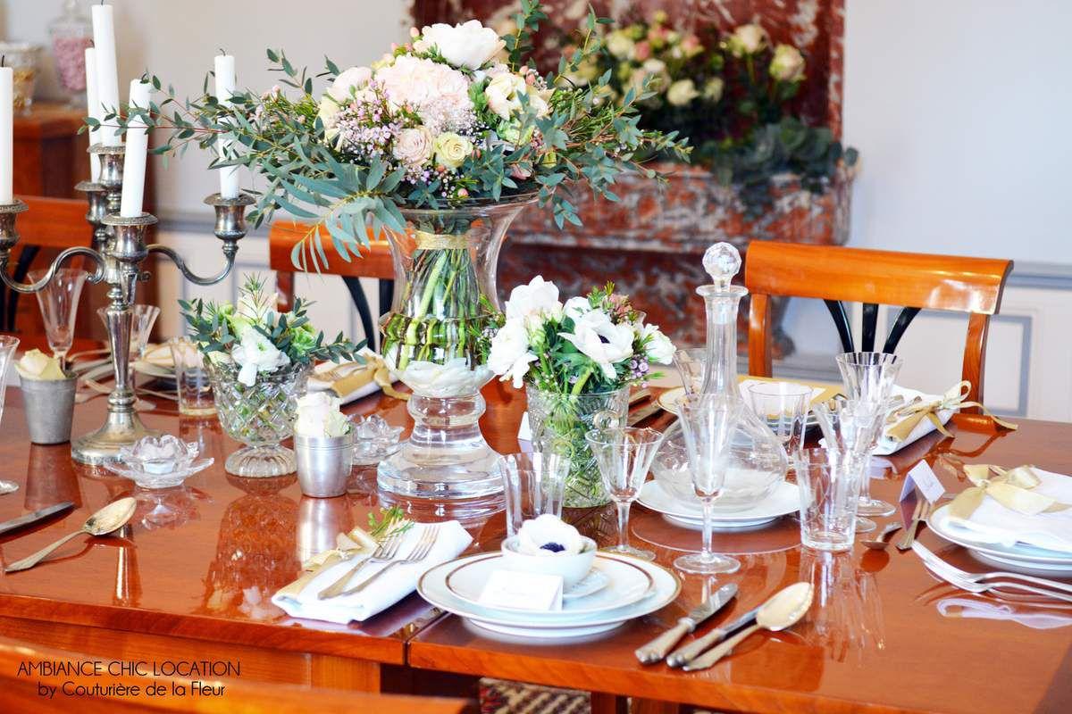 Location de vaisselle et décoration vintage