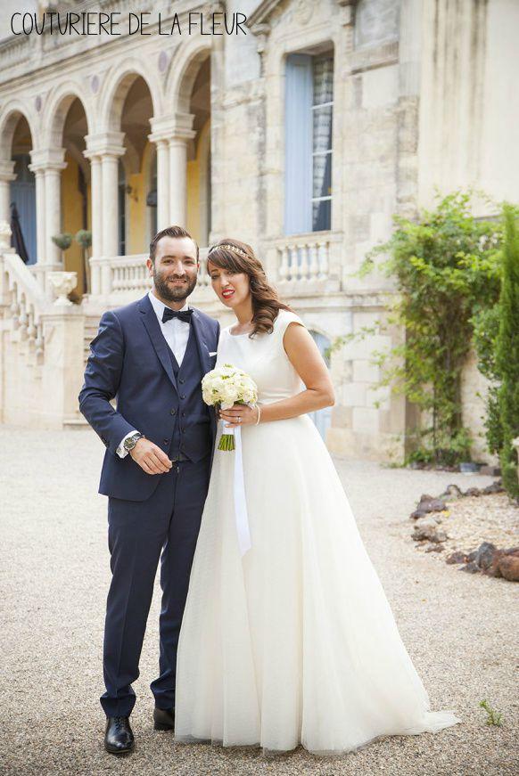 Joli mariage champêtre au Château Sainte Cécile