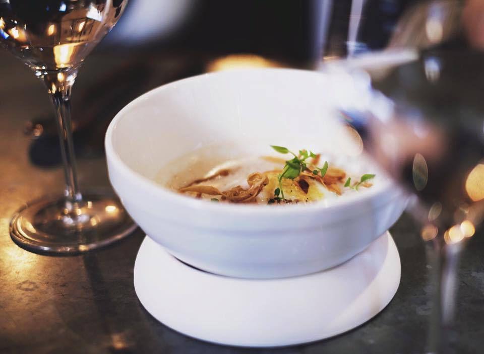 La cuisine de Pierre Augé ,élégante ,pétillante et gouteuse avec un nouveau concept la Bistrononomie et ses fameux tapas