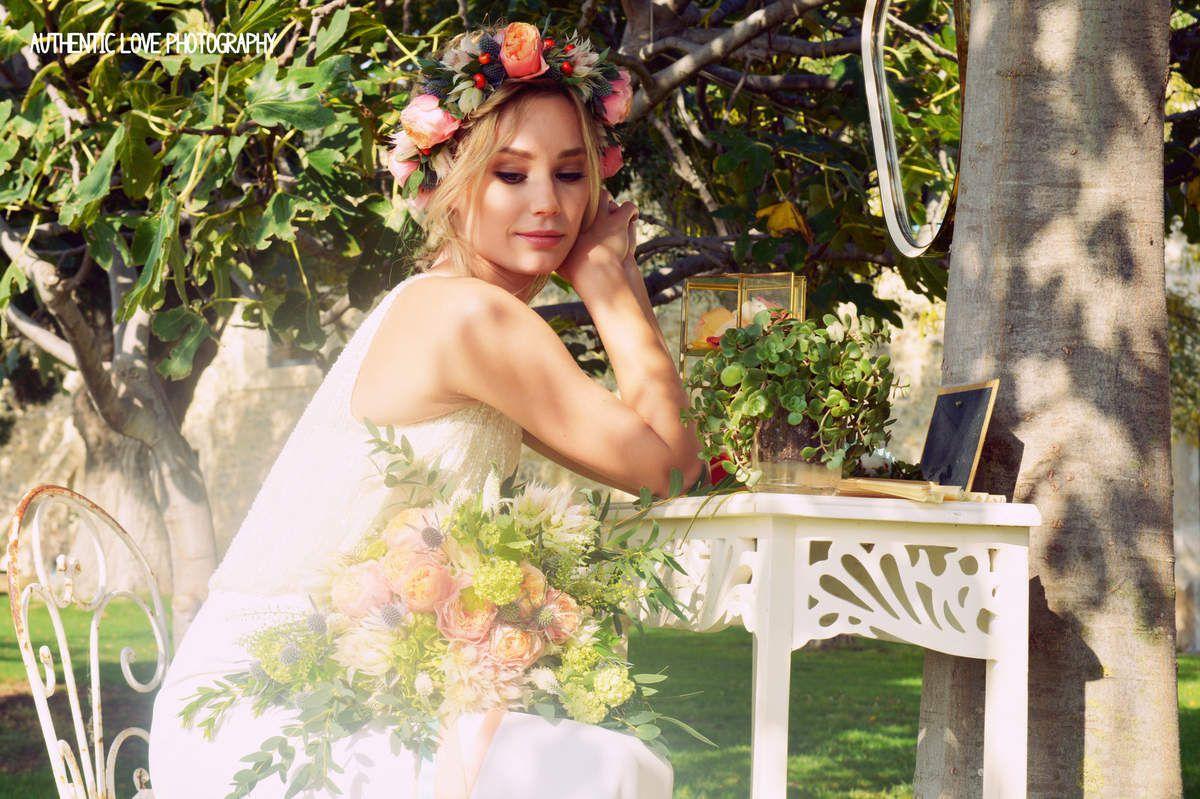 Pour la mise en beauté de la mariée