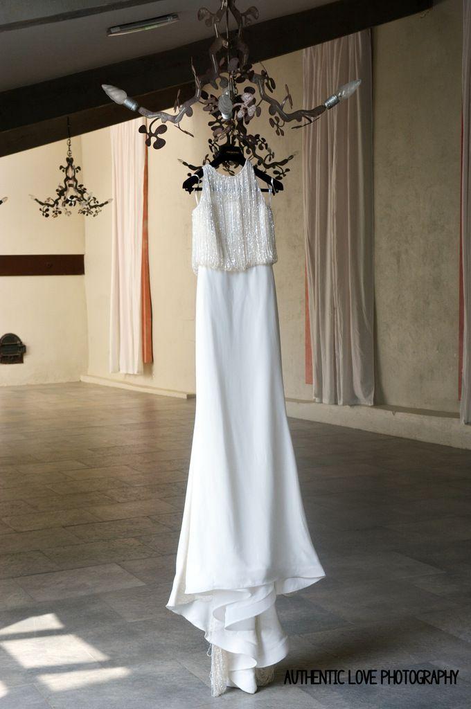 Robe de mariée Pronovias & Costume Casting & L'Homme