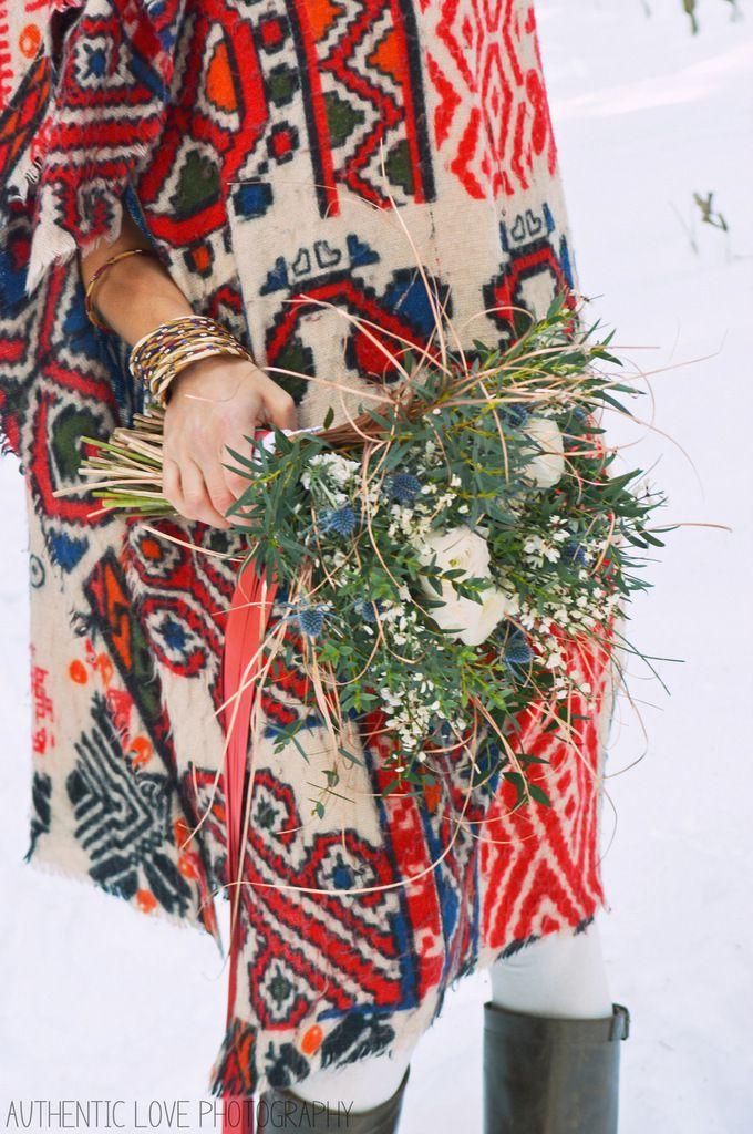 La mariée dans les fôrets du Mont d'Arbois