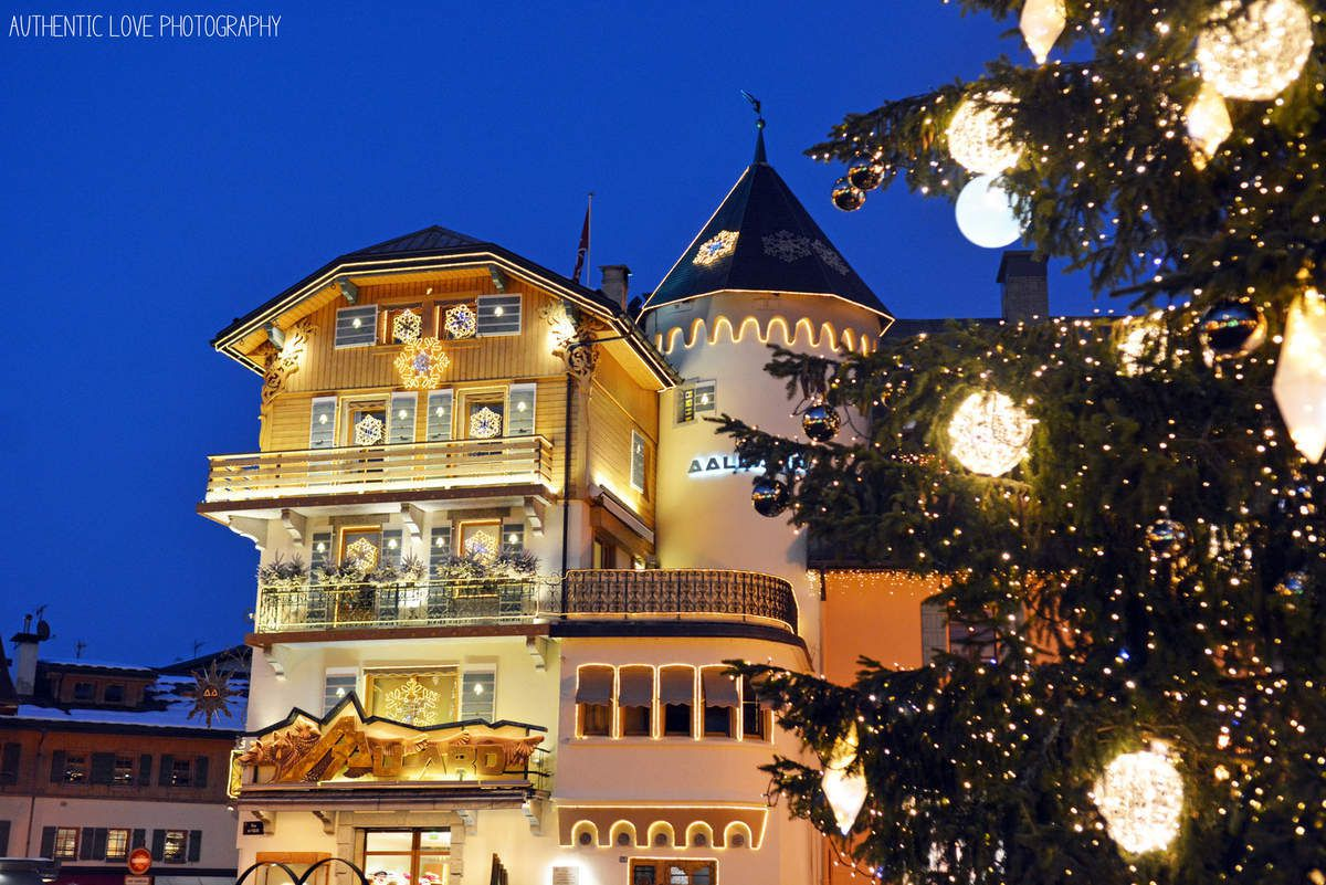 La belle ville de Megève