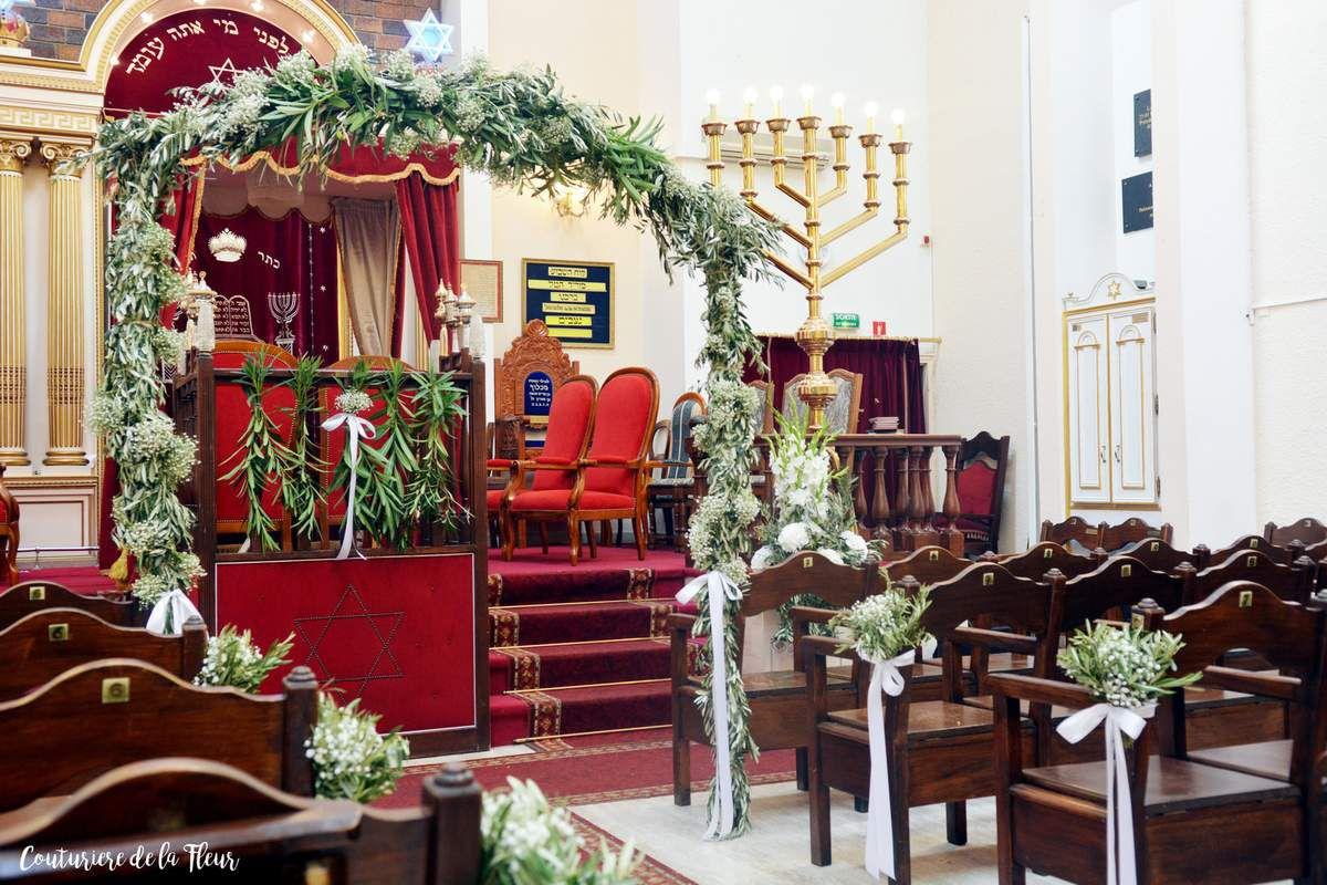 Fleuriste Mariage Juif à Montpellier - Inspiration Champêtre [Vrais mariages]
