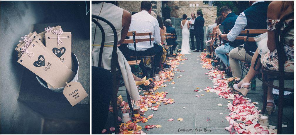 Couturière de la Fleur dans Rock My Wedding ! [Vrai Mariage]