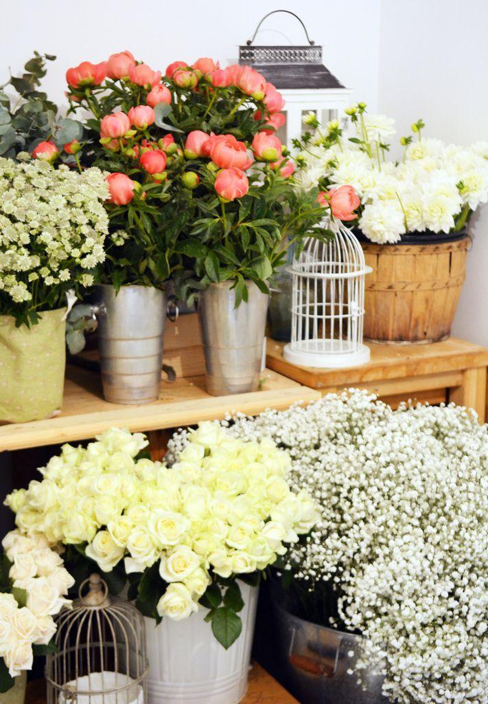 L'atelier de Couturière de la fleur, votre Artisan fleuriste à Montpellier