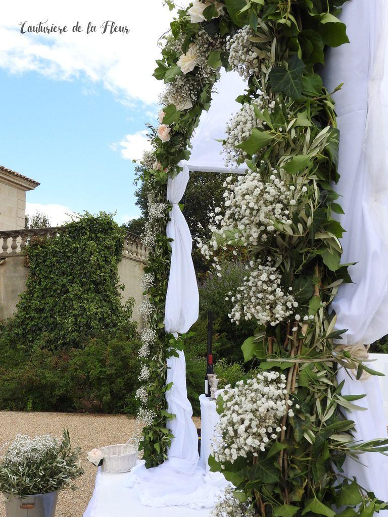 Location et décoration de houppa par Couturière de la Fleur