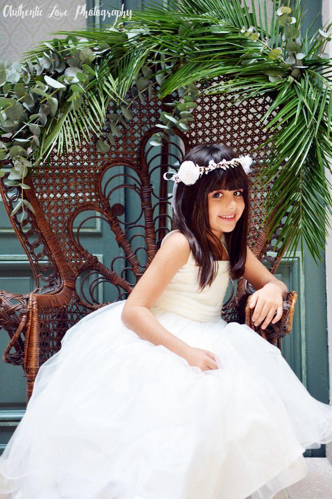 Mariage : jolies couronnes de mariée et de demoiselles d'honneur | Couronnes fleuries à vendre