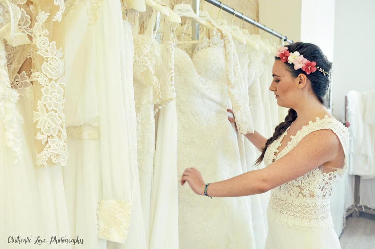 Couronnes de fleurs made in France pour mariage bohème