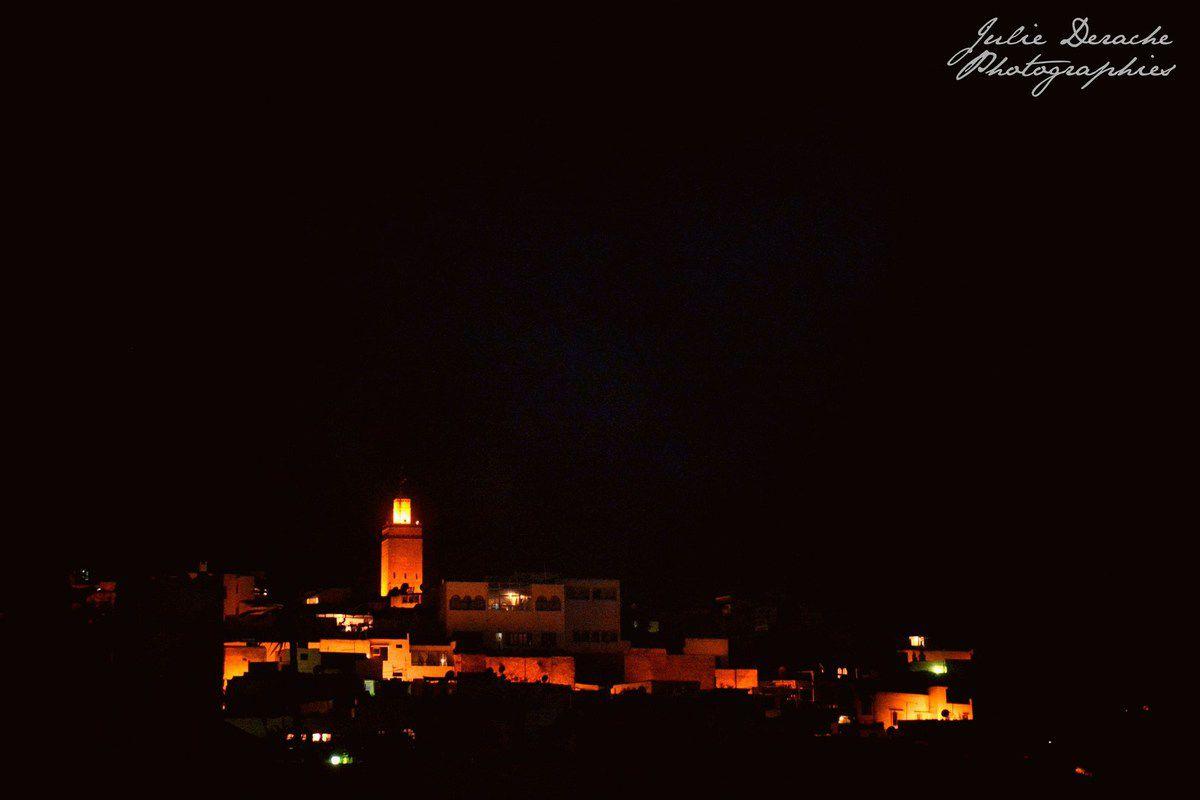 Vues de nuit sur Rabat