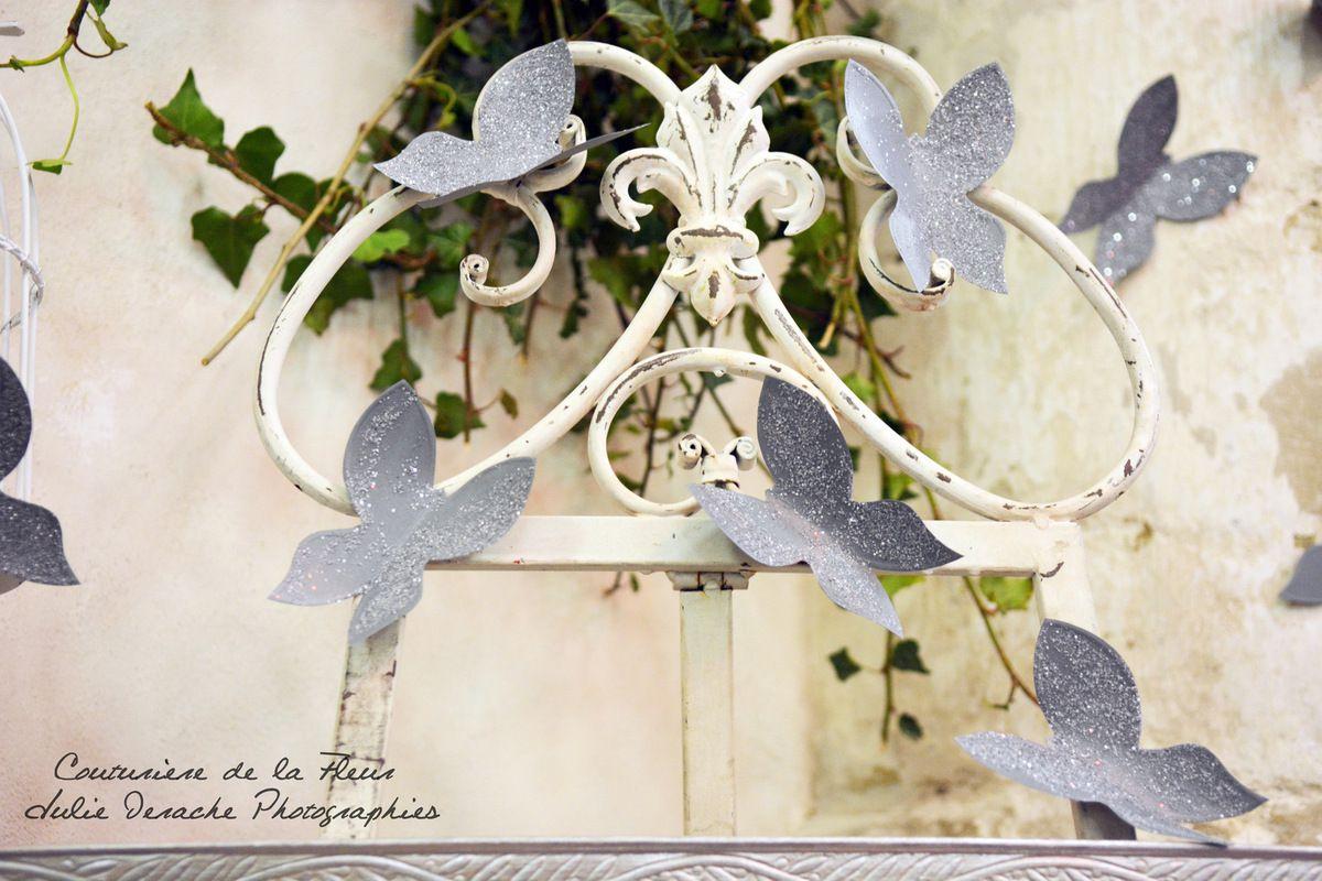 Une belle décoration imaginée et réalisée par Couturière de la Fleur