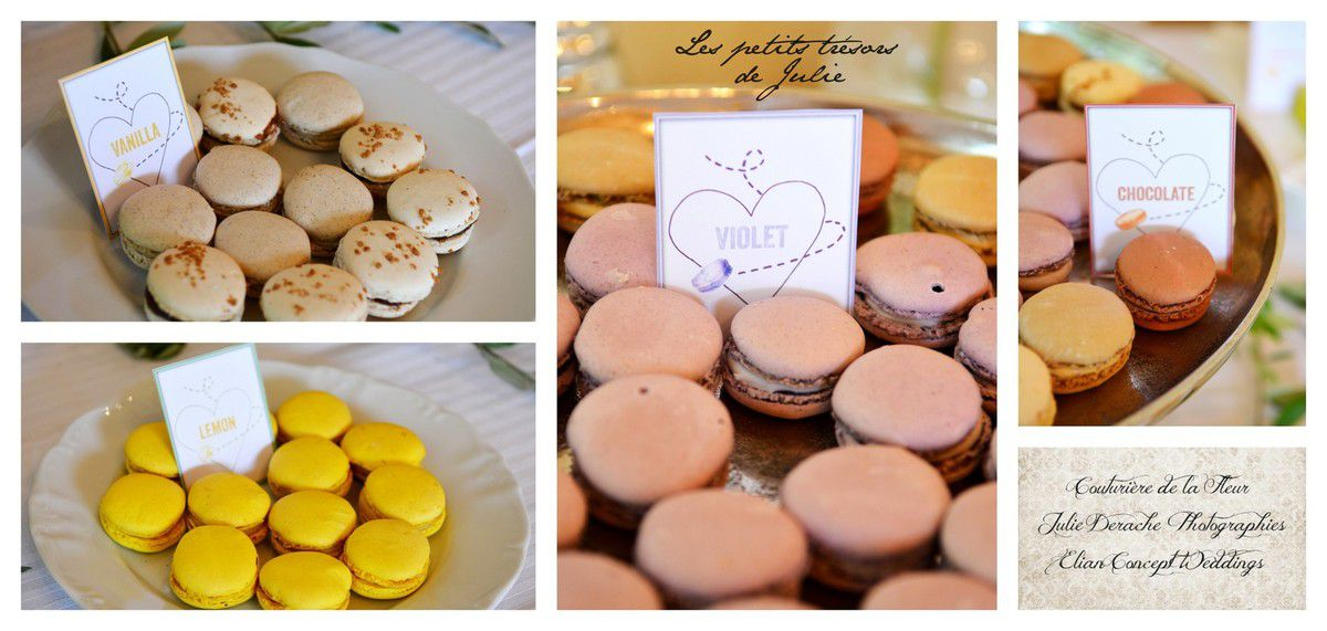 Papeterie Candy Bar Macarons
