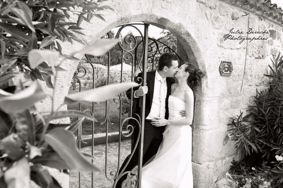 Mariage Voyage au Domaine de l'eau vive 2/2 | Photographe mariage Ardèche