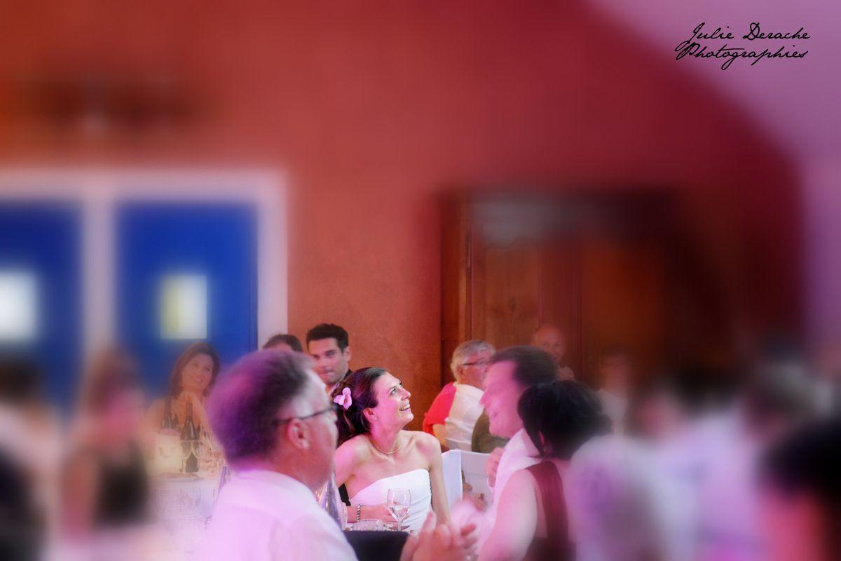 Réception de mariage conviviale...